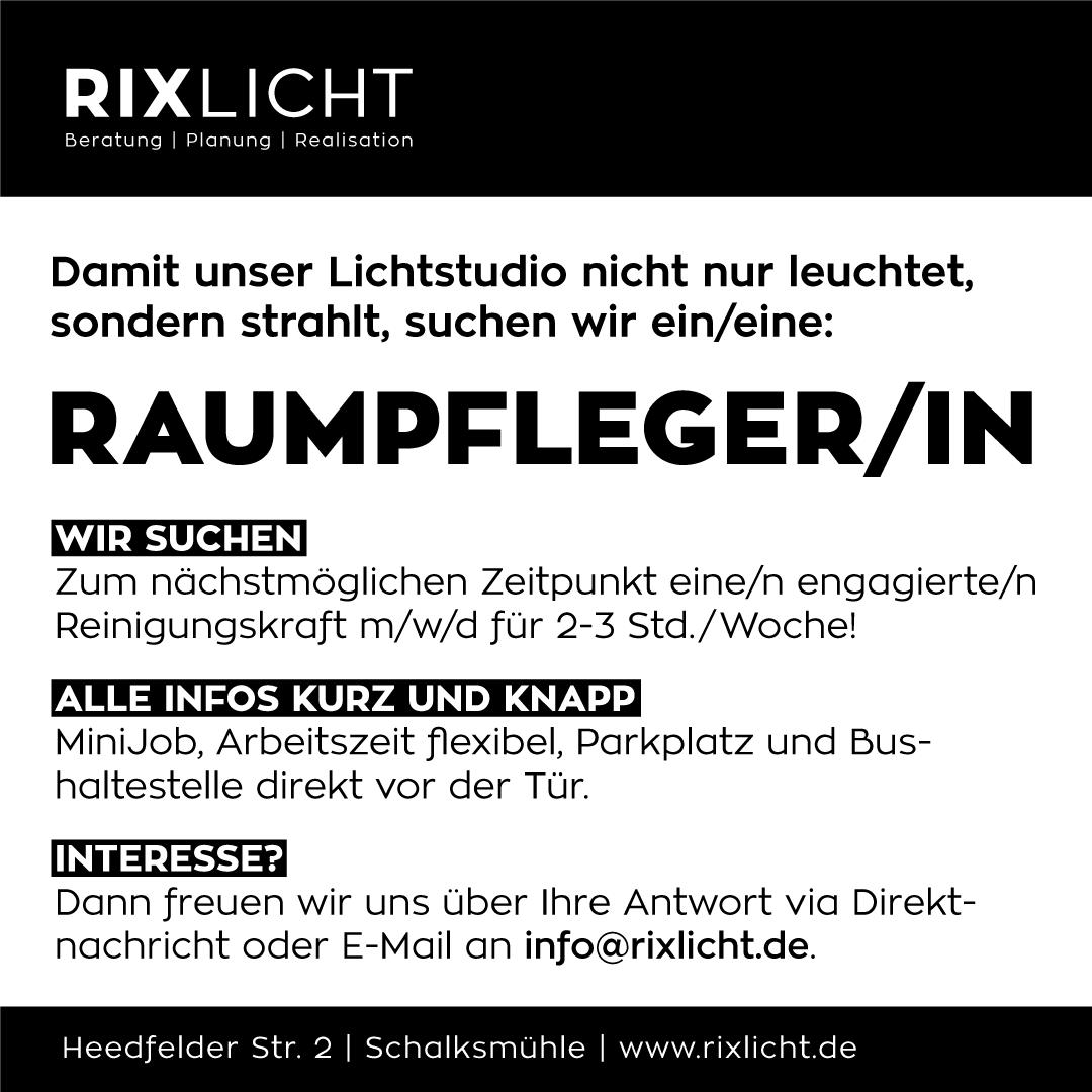 2018-10-22_Stellenanzeige-RIXLICHT