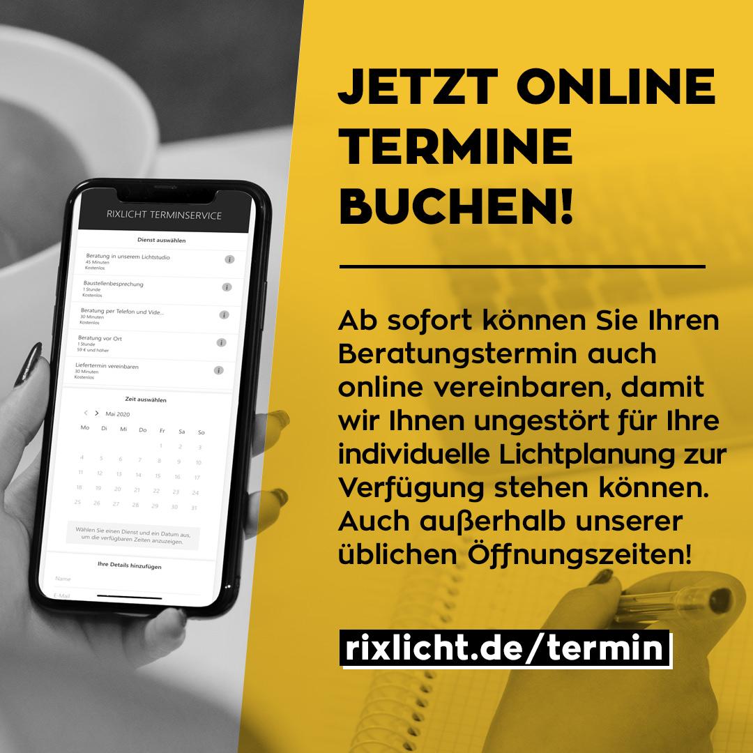 Jetzt Online Termine buchen!