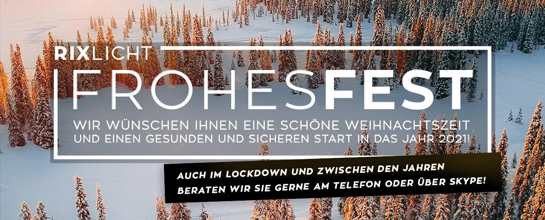 Frohes Fest - Wir wünschen Ihnen eine schönE Weihnachtszeit und einen gesunden und sicheren Start in das Jahr 2021!